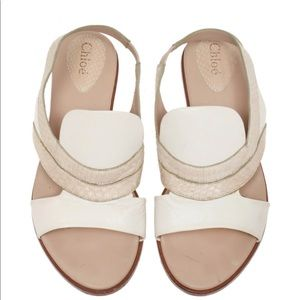 Chloe VINTAGE Flat Sandals Shoes